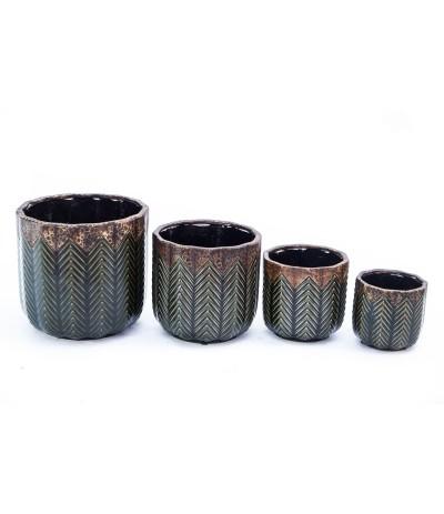 C.Saragossa Osłonka ceramiczna zieleń 11
