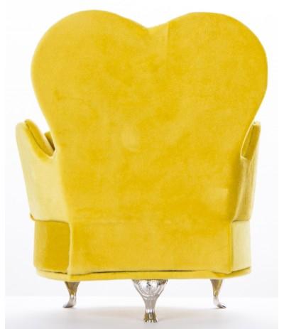 A.P.Szkatułka na biżuterię Fotel Żółty
