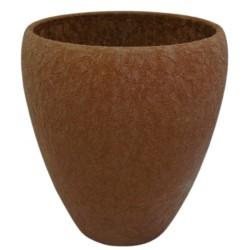 C.Osłonka storczykówka ceramiczna Lizard brąz