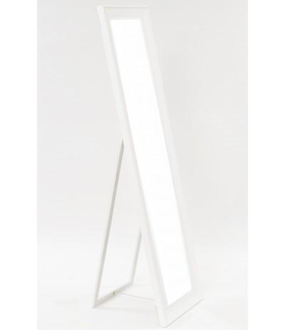 A.P.Lustro Białe stojące