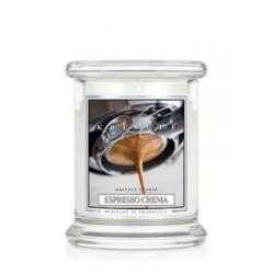 Kringle Świeca w szkle 100h Kremowe espresso