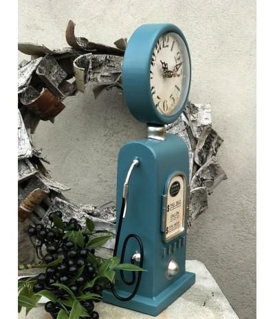 AM.Zegar Dystrybutor Retro Niebieski