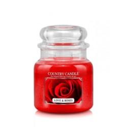 Country Świeca 453g Love& Roses