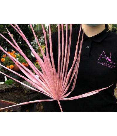 Suszony liść palmy Róż