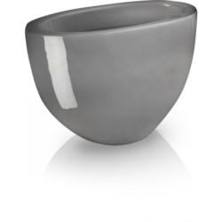 P.Osłonka ceramiczna owalna szara