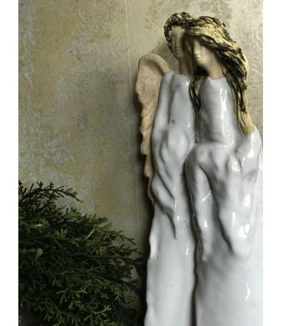 B.Para Anioł z Kobietą Naura + Biel