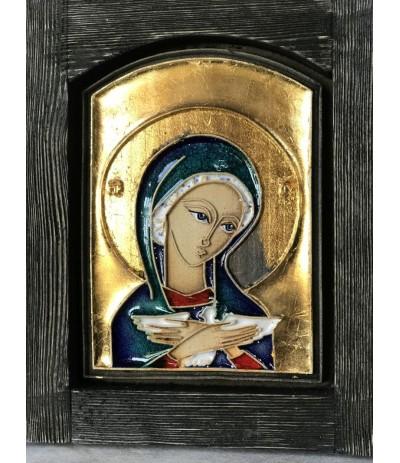 B.Vektor Ikona mała Matka Boża