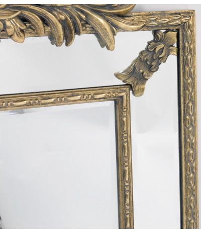 A.P.Lustro złoto zdobione