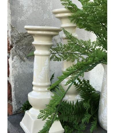 Świecznik ceramiczny Sonia Crem