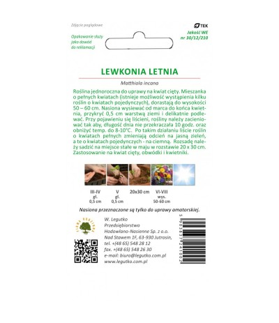 L.Lewkonia Letnia 0,5g
