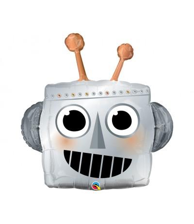 """G.Balon foliowy 35"""" Głowa Robota"""