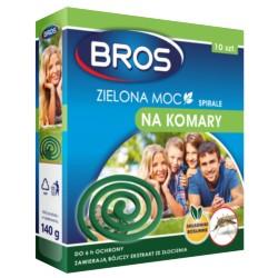 Bros Spirale na komary Zielona Moc