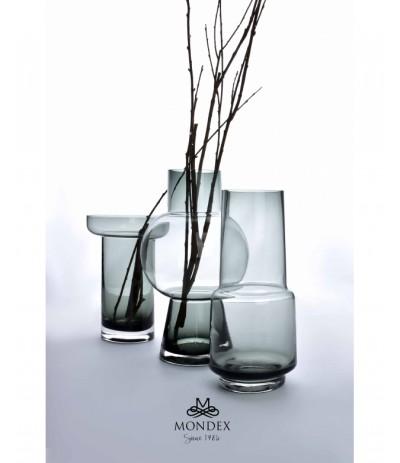 M.Serenite Wazon szklany Grey
