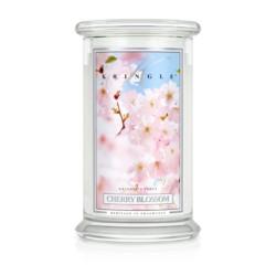 Kringle Świeca w szkle 100h Kwiat wiśni