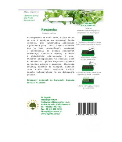 L.Rzeżucha Microgreens 4g
