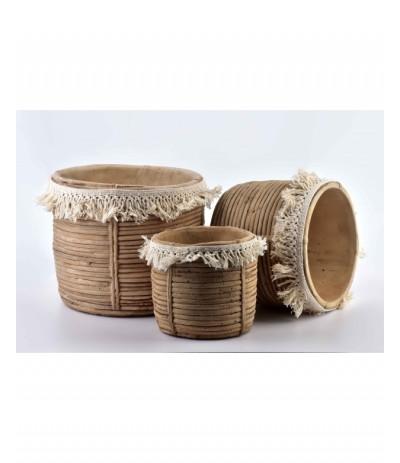 M.Osłonka ceramiczna Rosita beż