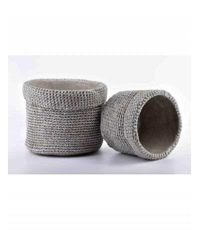 M.Rosita osłonka ceramiczna szara