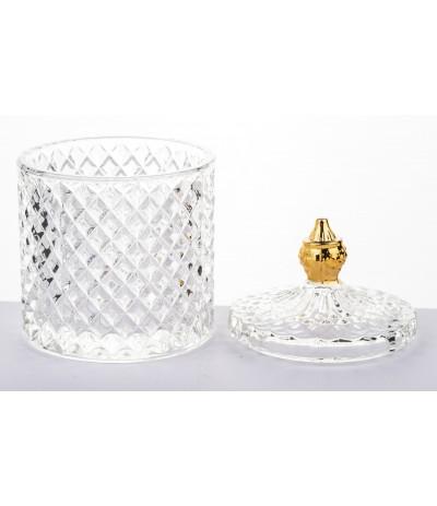 A.P.Pojemnik szklany z przykrywką