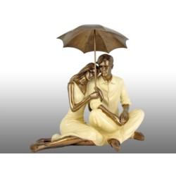 Figurka Para pod parasolem