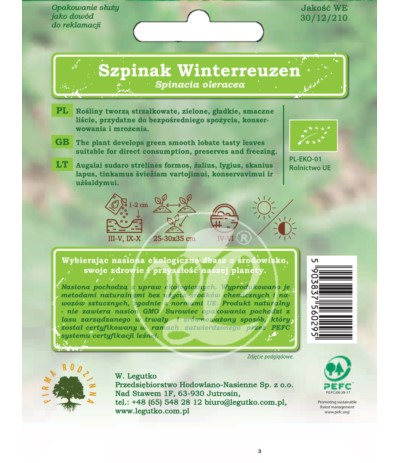 L.Bio Szpinak Winterreuzen