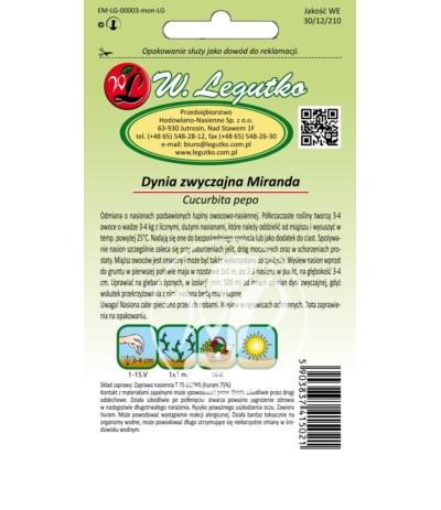 L.Dynia bezłupinowa Miranda