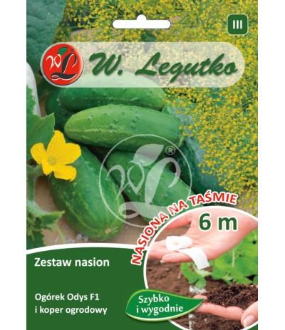 L.Zestaw nasion ogórek Odys+ koper ogrodowy