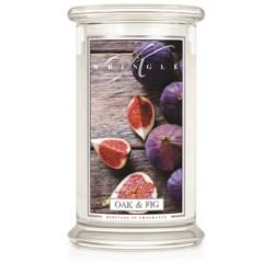 Kringle Świeca w szkle 100h Oak& Fig