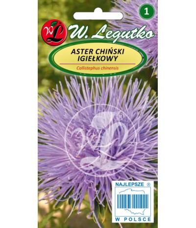 L.Aster chiński igiełkowy niebieski