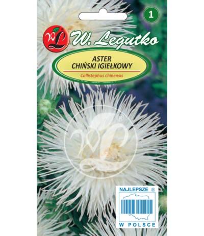L.Aster chiński igiełkowy biały