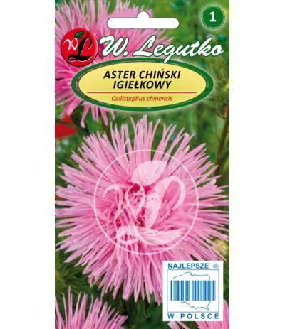 L.Aster chiński igiełkowy różowy