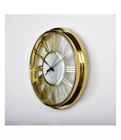 M.Zegar ścienny złoty 32 cm