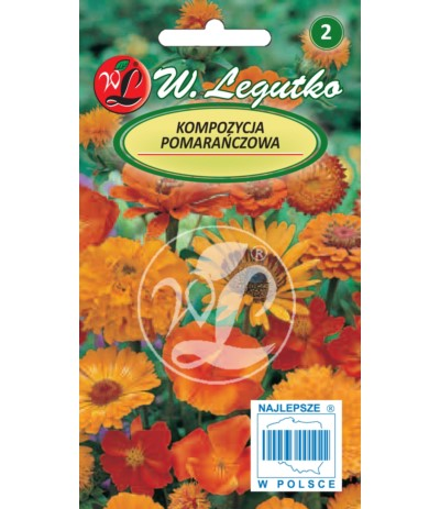 L.Kompozycja pomarańczowa