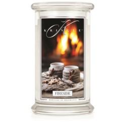 Kringle Świeca w szkle 100h Fireside