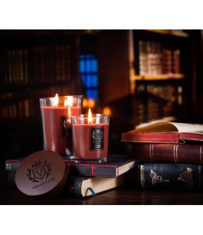 Vellutier Świeca duża 515g Vintage Library