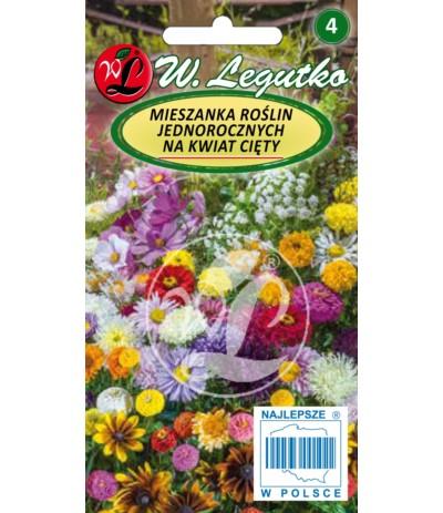 L.Mieszanka  roślin jednorocznych na kwiat cięty