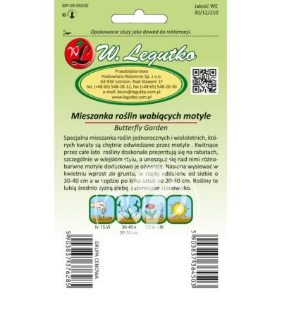 L.Mieszanka roślin wabiących motyle