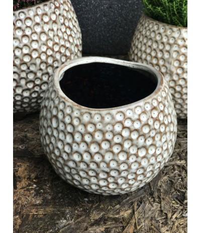 A.Grenada Osłonka ceramiczna Kółeczka Beż S