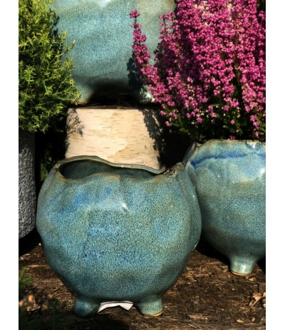 A.Grenada Osłonka ceramiczna na nóżkach Kobalt L