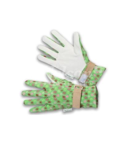 L.Rękawice Majbacka zielone 8