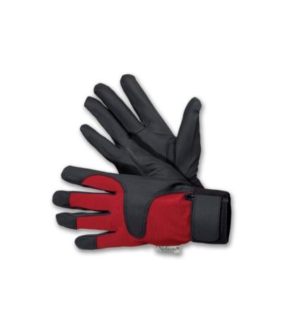 L.Rękawice Drip czerwone 8