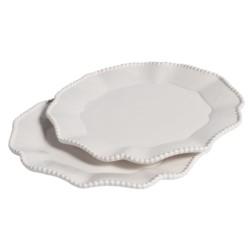 Parma Talerz płaski M biały