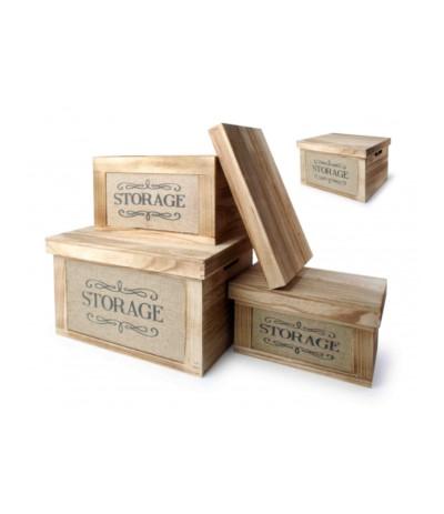 Skrzynia drewniana Storage