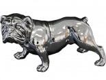 A.P.Pies srebrny- figurka