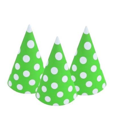 G.Czapeczki urodzinowe zielone