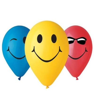 "G.Balony "" 3 uśmiechy"" 5szt"