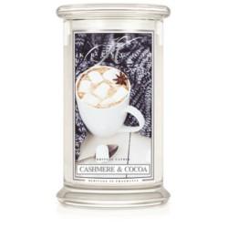 Kringle Świeca w szkle 100h Cashmere & Cocoa