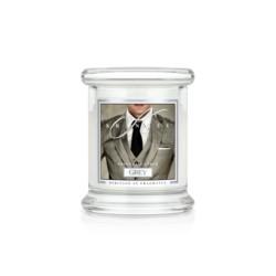Kringle Świeca w szkle  50h Grey