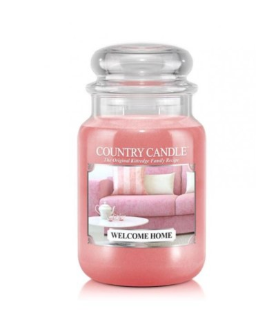Country Candle Welcome Home Duży słoik 652g