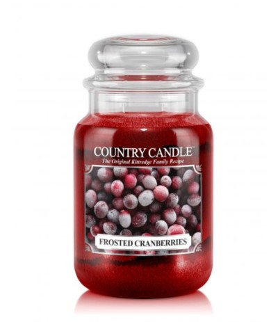 Country Candle 652g Frosted Cranberry