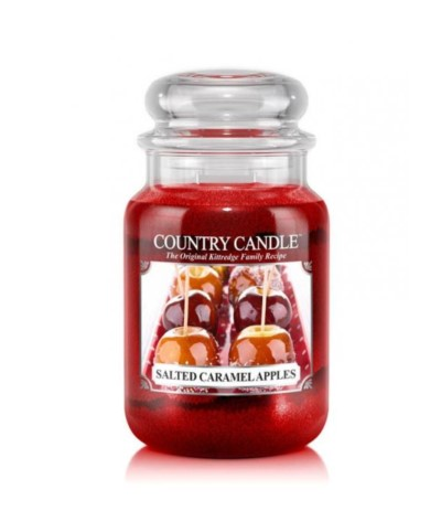 Country Candle 652g Salted Caramel Apples